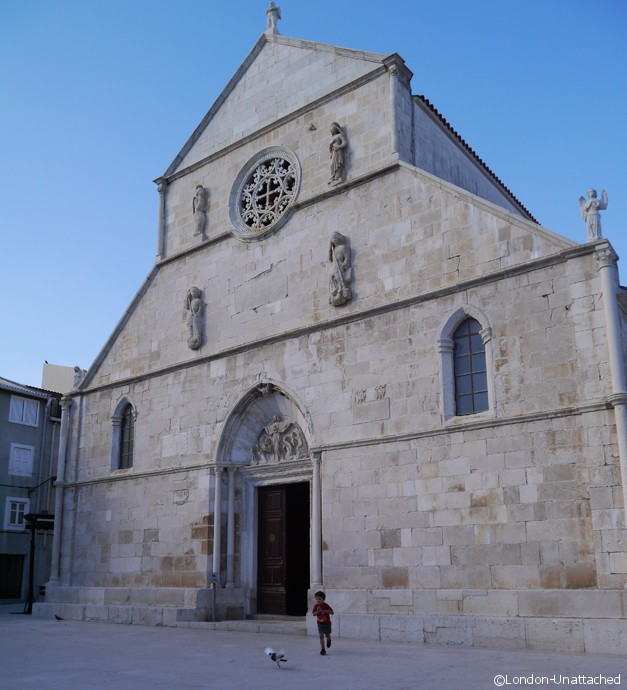 Croatia Dalmatian Coast Pag - New Church