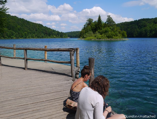 Plitvice Croatia Waiting for Lake Transport