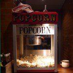 Popcorn machine at the Tavern