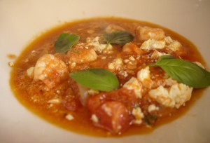 Prawns with Feta – Garides Me Feta