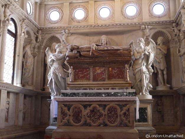 Sarcophogus Trogir Cathedral Croatia