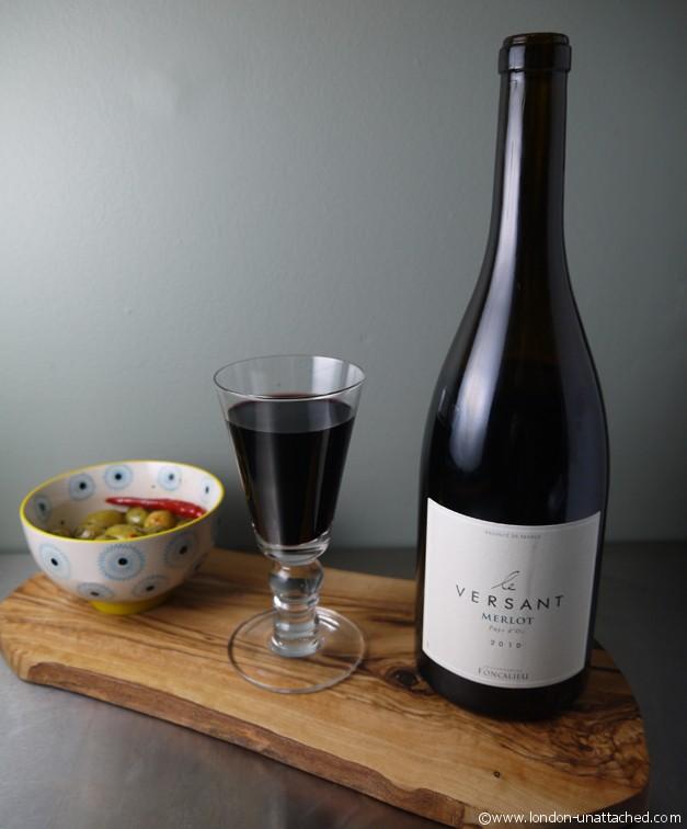 Versant Merlot for boeuf bourgignon