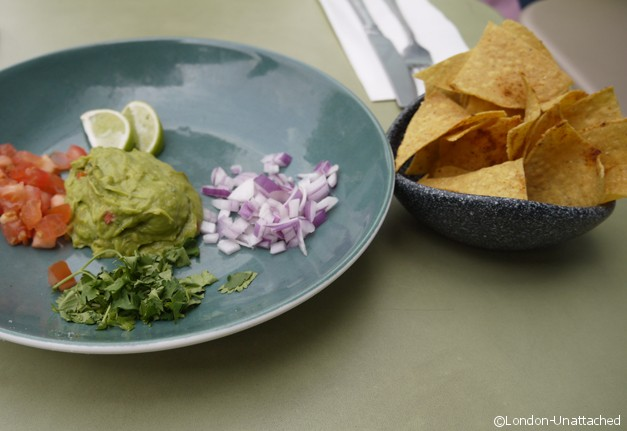 London Unattached at Las Iguanas - holy guacamole