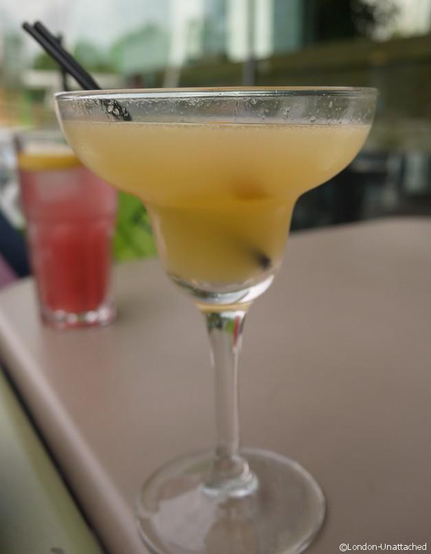 London-Unattached at las iguanas cocktails