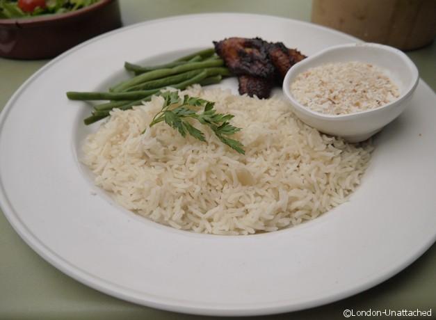 las iguanas coconut rice