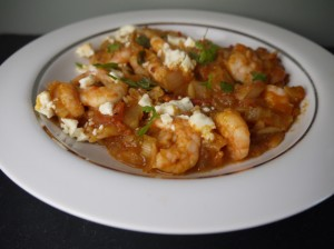 5:2 Diet Prawns With Feta and Orzo
