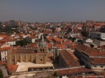 view from university tower coimbra