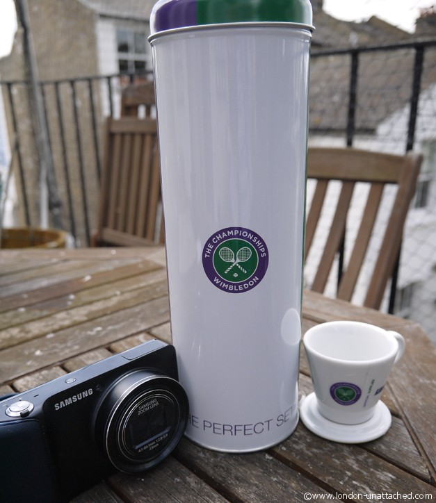 wimbledon Camera and cup