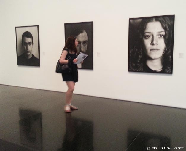 Catherine at the museum of Contemporary Art - exhibition - Barcelona