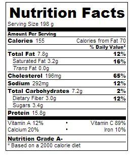 Cauliflower Crust quiche for 5:2 Diet