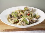 5-2 diet Clams with pasta
