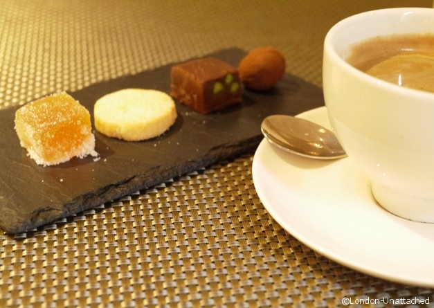 Coffee and petit Fours St Ermins Hotel