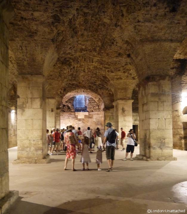 Diocletian's Palace - Basement