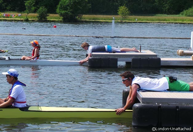 Lining up Henley