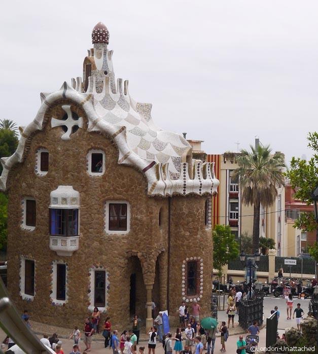 Park Guell - Gatehouse