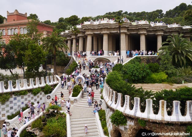 Park Guell - Main Entrance