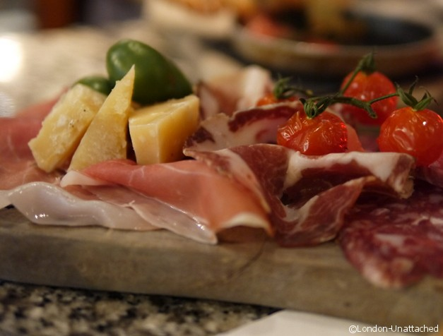 Pontis meat and cheese