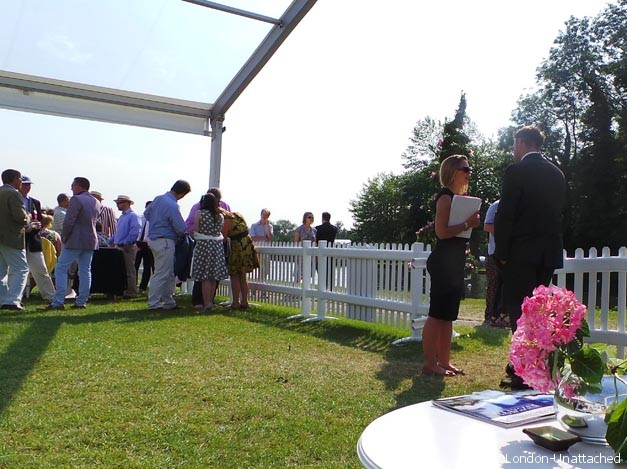 Rhubarb Hospitality Tent