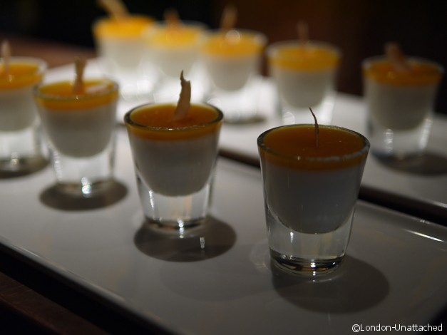Rum and sugar - canape desserts