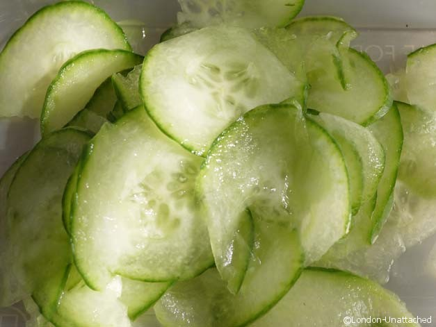 Slica does Cucumber
