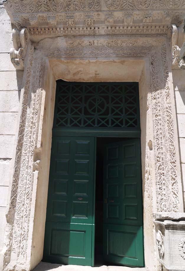 Split Croatia Baptistry Door