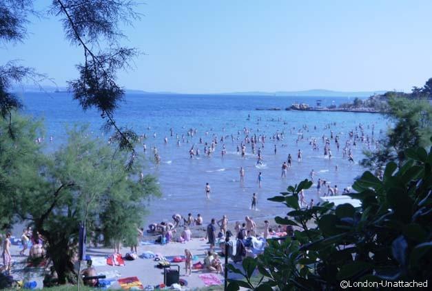 Split Croatia - Beach