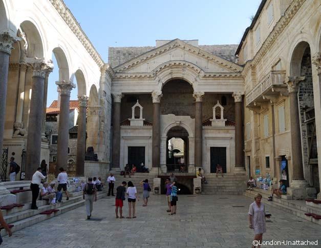Split Croatia - Diocletians Palace