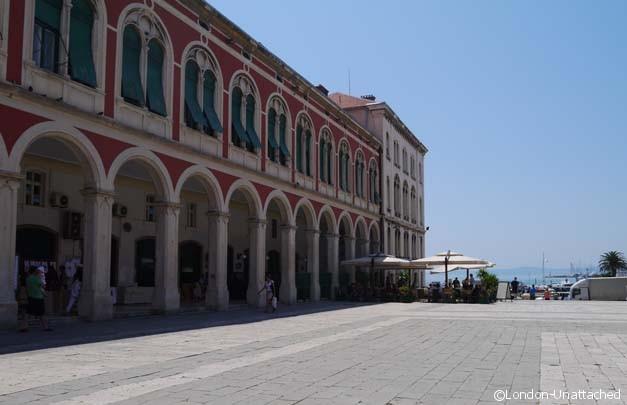 Split croatia Town Centre