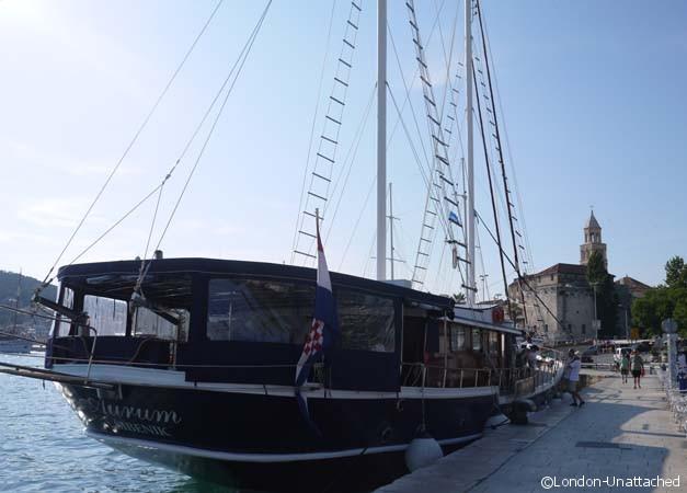 Split croatia - sailing boat