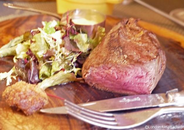 Caxton Grill St Ermins Hotel Fillet Steak Rare