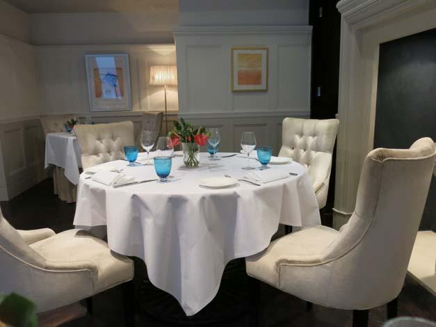 Tartufo - dining in comfort