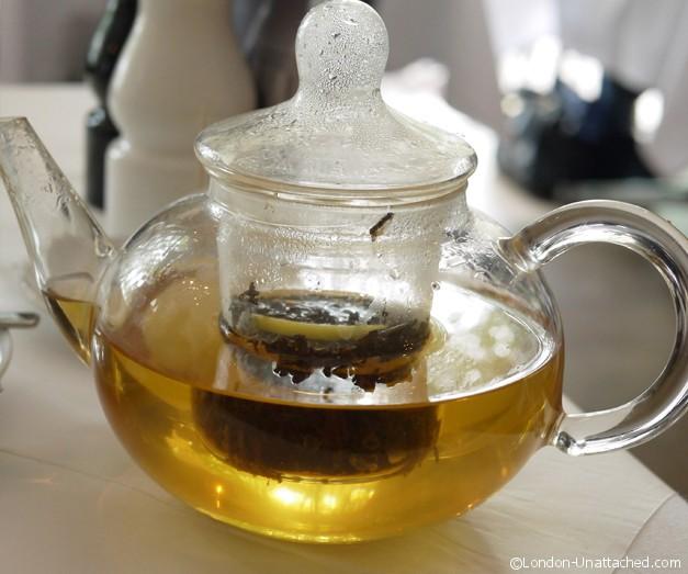Tea at Gallery Mess