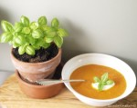 Tomato Soup with Basil and Roasted Garlic copy