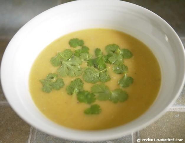 5:2 diet butternut squash soup top