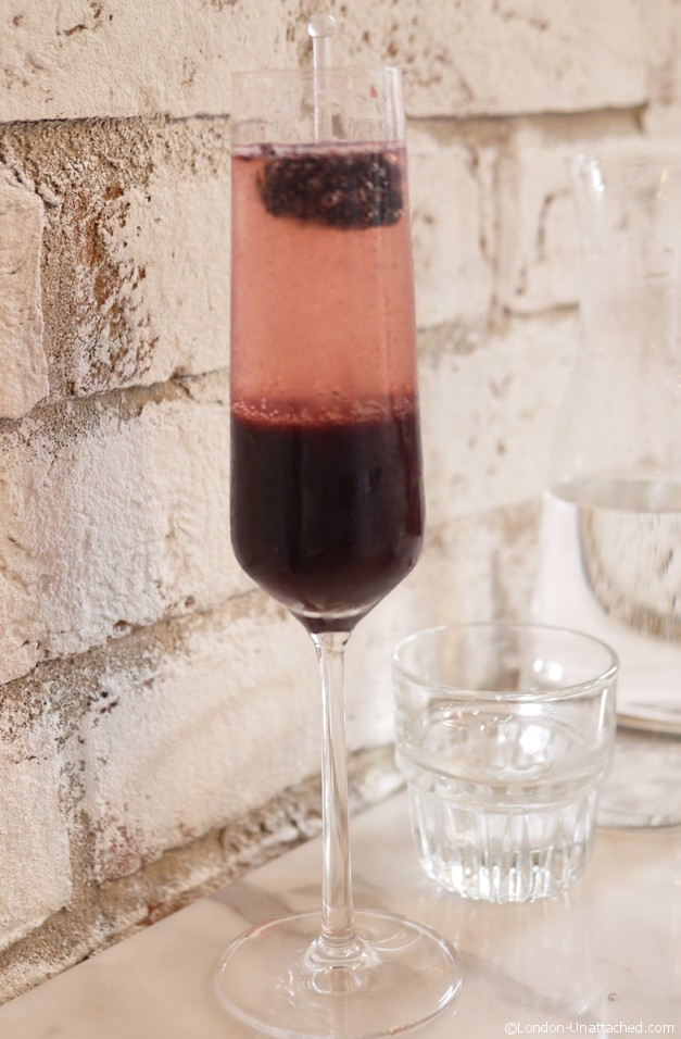 Central & Co Berry Bellini - up against the wall