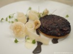 Black pudding tart - truffle vinaigrette - Club Gascon