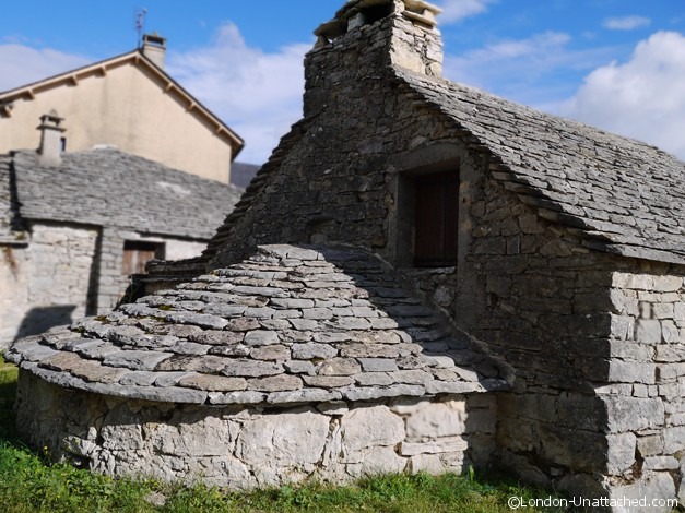 Causses et Cevennes - traditional Farm House