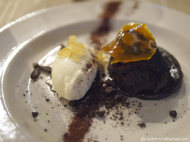 Chocolate Fondant with IceCream