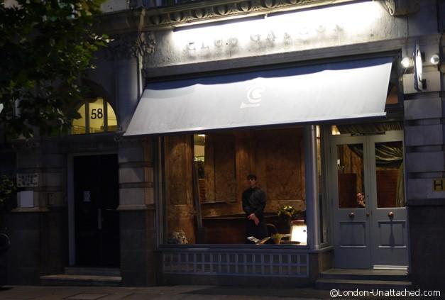 Club Gascon Exterior