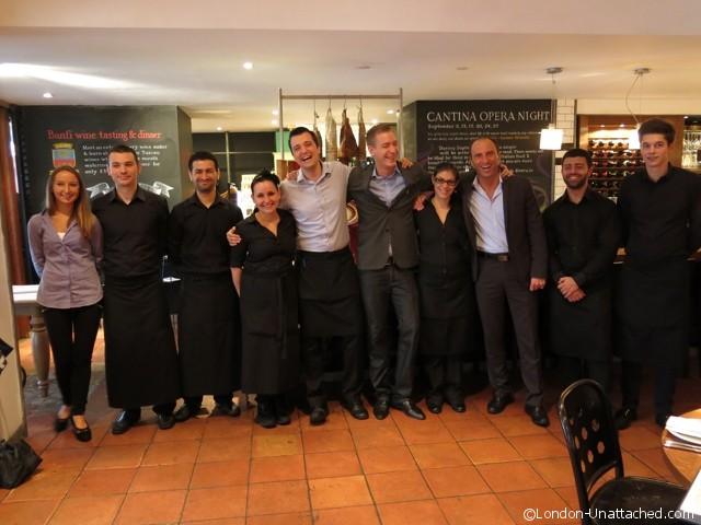 Corrado Lamanuzzi and team