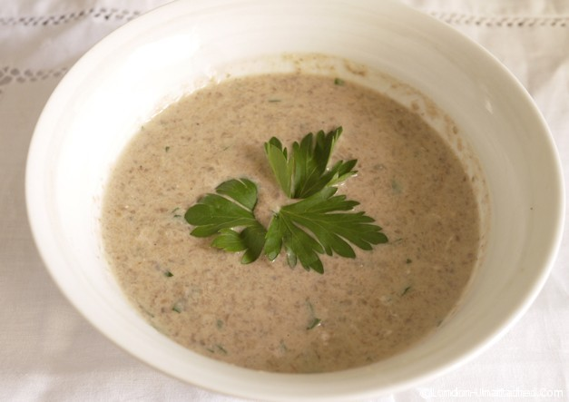 LOW-FAT Cream of Mushroom Soup - LOW-FAT Creamy Soup Recipes - Food ...