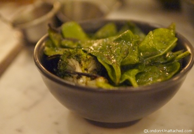 Dishoom - bowl of greens