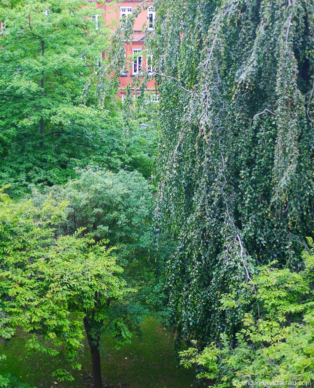 Draycott Hotel - view from window