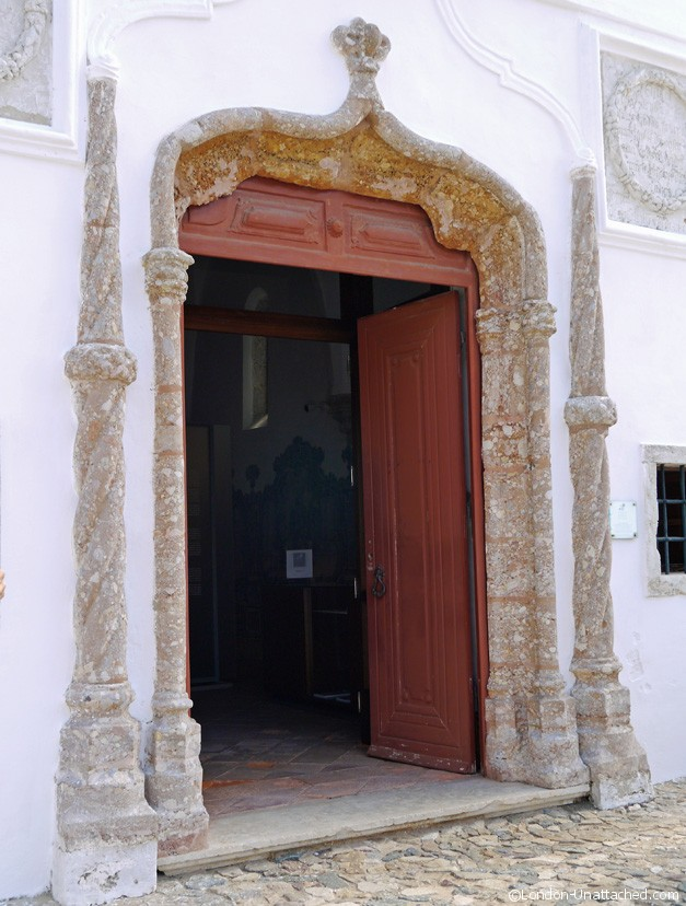 Entrance Nossa Senhora das Salas Church