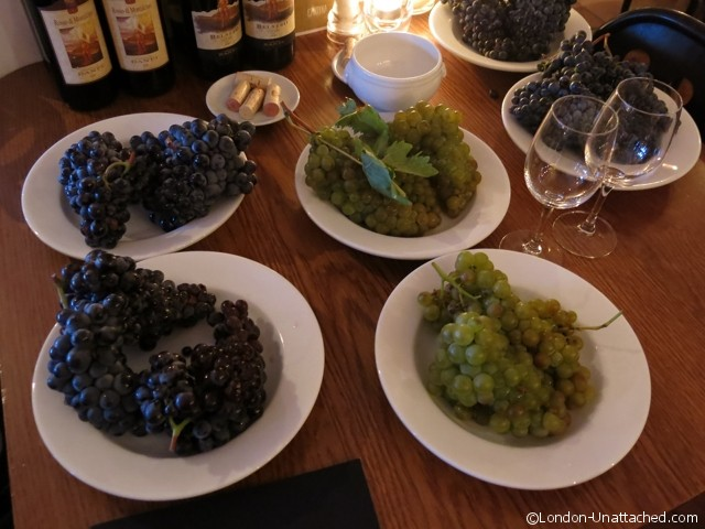 Grapes from Castello Banfi