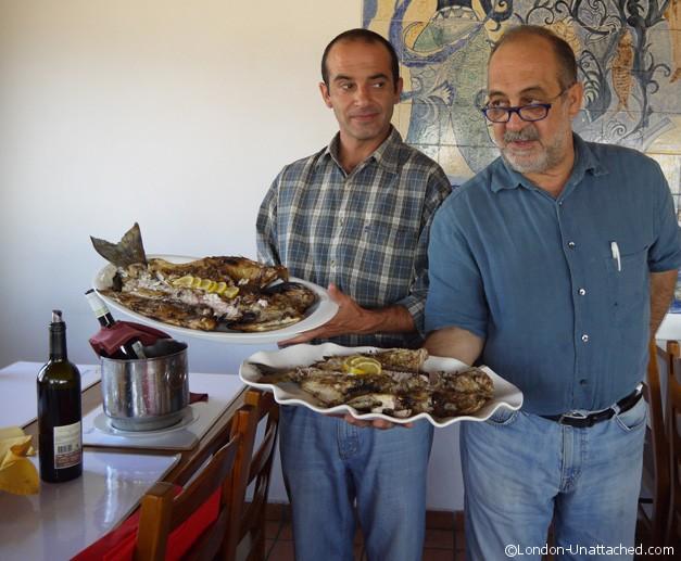 Grilled Seabream and Sea Bass Arte e Sal Alentejo