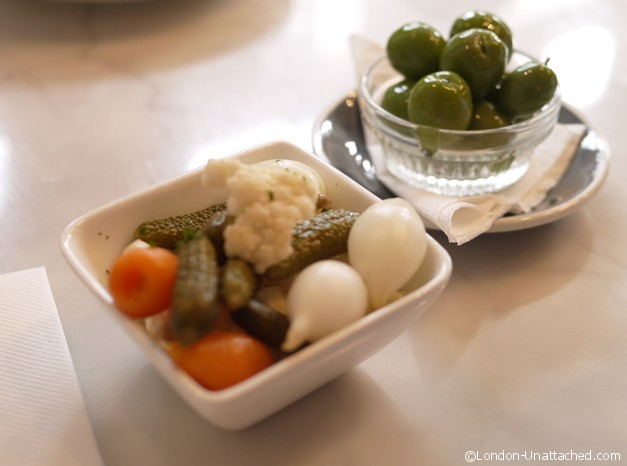 Central & Co Olives and pickles