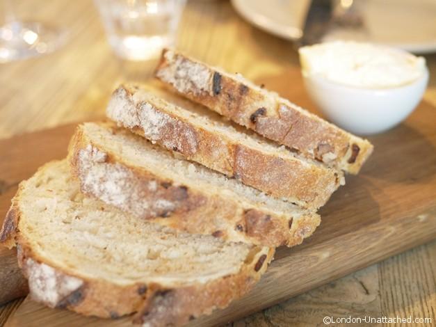 Grain Store Onion Bread with Creme Fraiche Butter