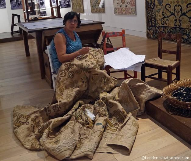 Rug Making Arraiolos Portugal