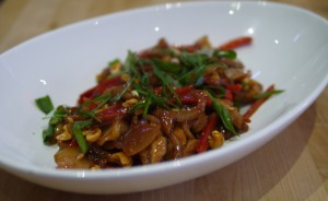 Stir Fried Sichuan Chicken